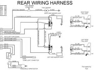 rear light wiring harness scout ii free printable wiring diagrams
