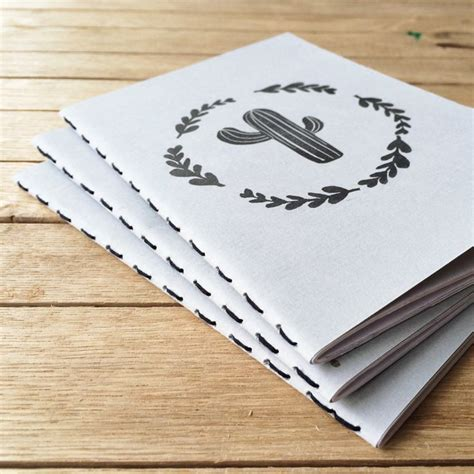 Handmade Notebook - 25 best ideas about handmade stationary on