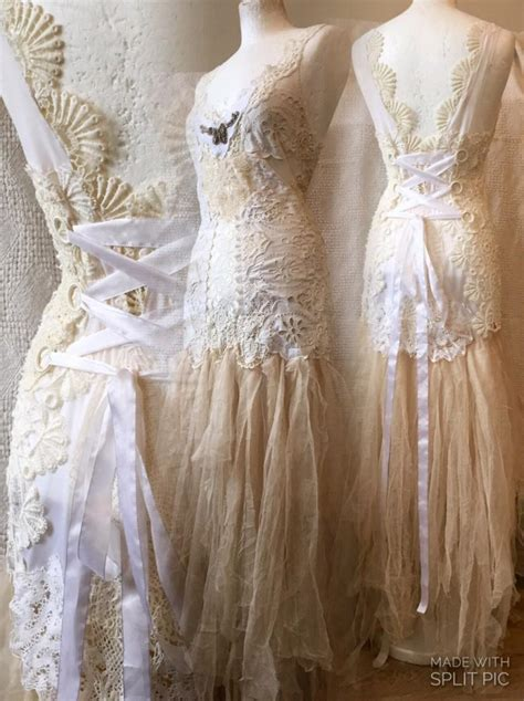 Handmade Wedding Dress - lace wedding dress princess gown bridal gown wearable