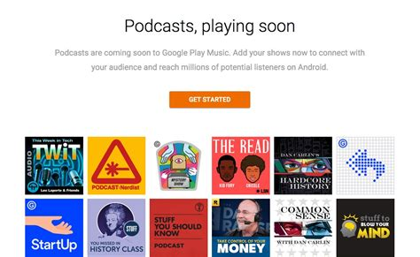 google pod google play music s ouvre aux podcasts