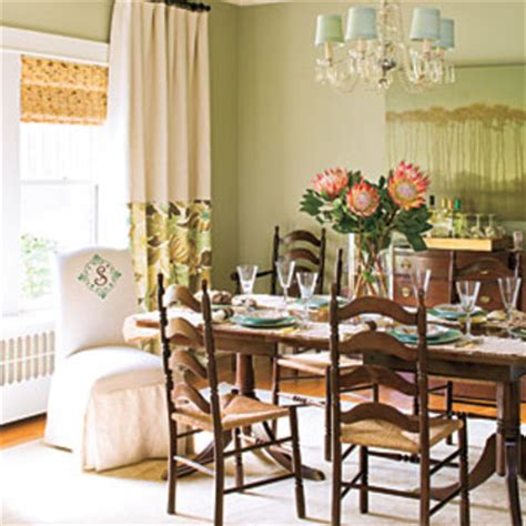 southern dining rooms dining room decorating ideas layer window treatments