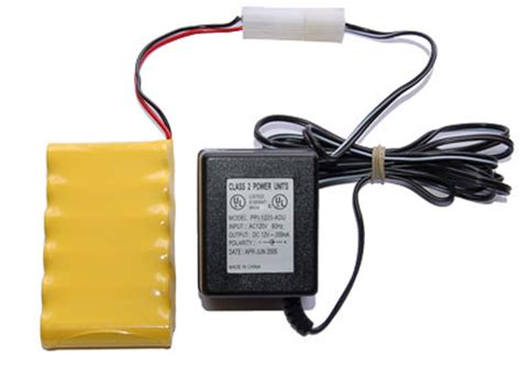 7 2v battery pack and charger 7 2 volt 700 mah nicd battery pack charger
