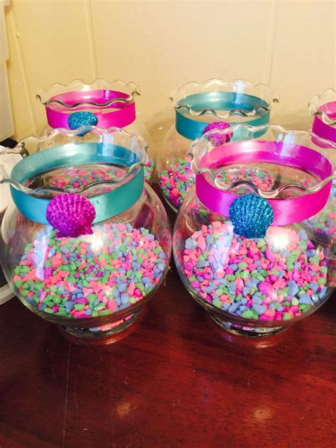 mermaid centerpiece decorations best 25 mermaid centerpieces ideas that you will