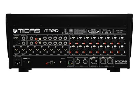 Mixer Midas M32 midas m32r 40 channel live studio digital mixer console with 16 midas microphone prelifiers