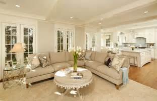 Living Room Traditional With Crown Molding Cream And White Living Room » Home Design 2017
