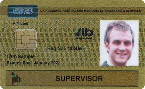 Plumbing Cscs Card by Plumbing Supervisor Registration Card Jib Pmes Official