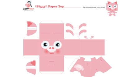 How To Make Paper Piggy Bank - piggy