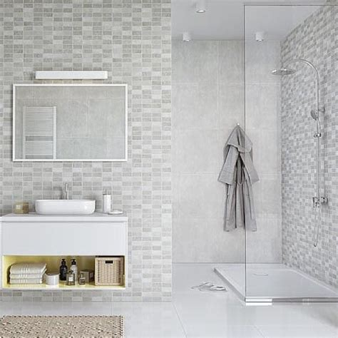 Shower Panels For Bathrooms Marmo Mosaic Bathroom Panels The Bathroom Marquee