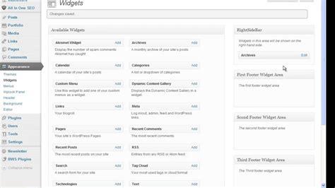 tutorial wordpress dashboard wordpress dashboard tutorial widgets