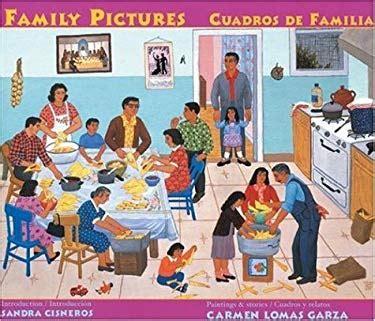 family pictures cuadros de familias by carmen lomas