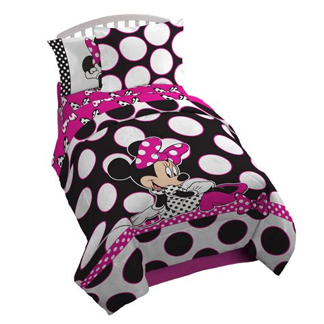 minnie mouse bed in a bag amazon com delta children twin bedroom collection