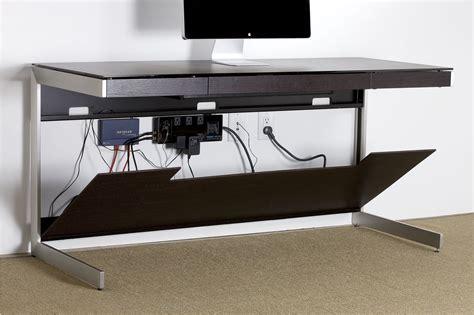 hide cords on desk bdi sequel 6001 computer desk