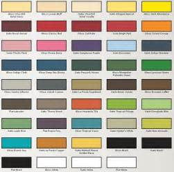valspar color make your own custom table storefront life
