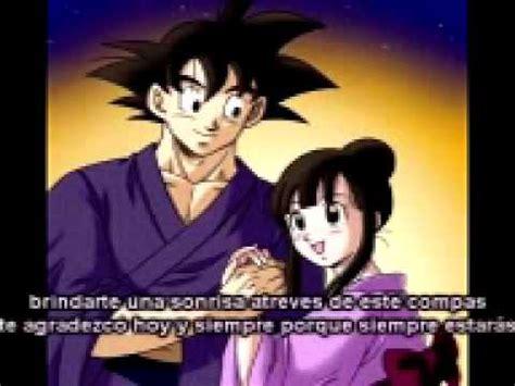 imagenes romanticas de goku goku y milk rap de amor youtube