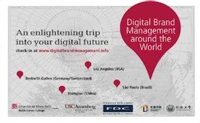 Post Mba Brand Management by Digital Brand Management Prof Dr Dieter Georg Adlmaier