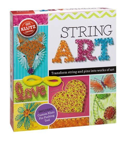 String Craft Kit - craft a handmade with klutz books klutzhandmade