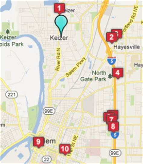 map of keizer oregon keizer oregon hotels motels see all discounts