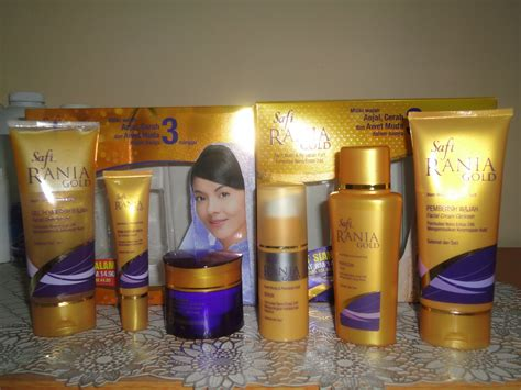 Serum Rania Gold small with a big bertukar ke safi rania gold