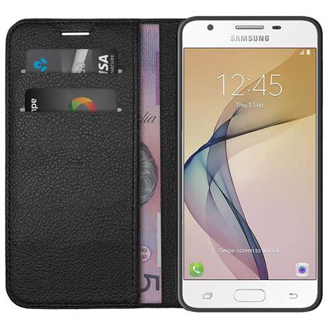Samsung J5 Prime Kredit leather wallet samsung galaxy j5 prime black