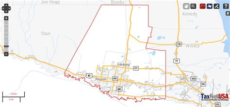 hidalgo texas map hidalgo county texas property search and interactive gis map taxnetusa