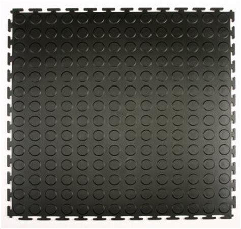 Pvc Boden Miteinander Verbinden by Garage Flooring Coin Pattern Verriegelung Pvc Fliese