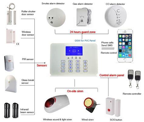 Skylite Infrared Montion Sensor Ms 118 wireless home security burglar alarm system alarm w external solar powered siren buy home