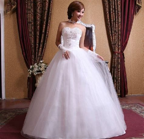 aliexpress wedding dress aliexpress com buy ball gown floor length sweetheart