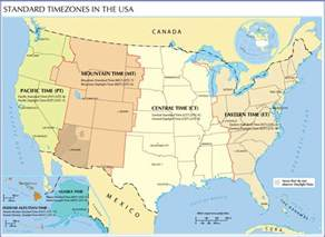 Times Zones Map by Pics Photos Time Zones Map Usa World