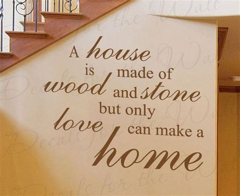What Makes A Good Home 25 best ideas about family wall sayings on pinterest