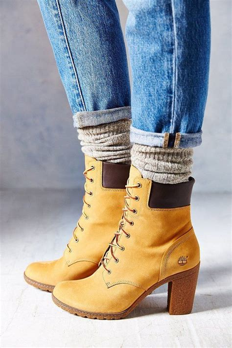 timberland high heel boots for timberland glancy wheat heeled boot shoes