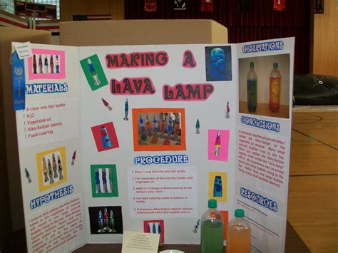 Homemade Lava L Science Project Best Home Furniture Ideas