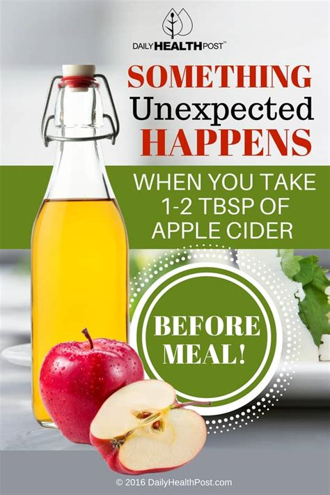 Could Taking Taking Apple Cider Vinegar Help With Detox by Something Happens When You Take 1 2 Tbsp Of