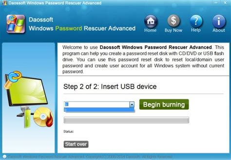 reset windows password on raid how to use windows password rescuer raid daossoft