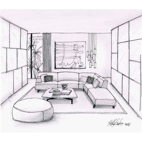 sketch room living room sketch fabio santos
