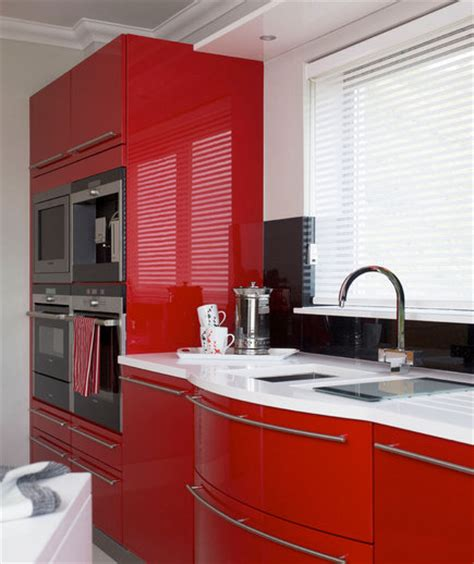 cherry red kitchen cabinets color story 19 amazing kitchen decorating ideas real