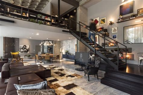 open concept design an artful loft design