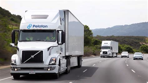 volvo group trucks technology peloton technology closes 60 million series b funding