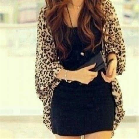 Sweater Leopad Abu Ab black dress with leopard cardigan http www studentrate fashion fashion aspx fashion