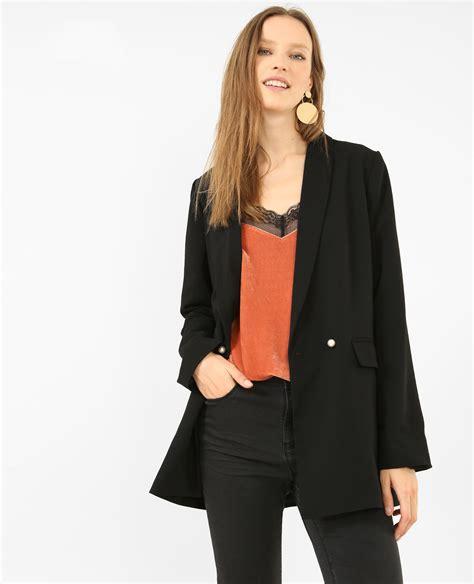 Pimkie Oversized Blazer blazer perl 233 noir 323224899a08 pimkie