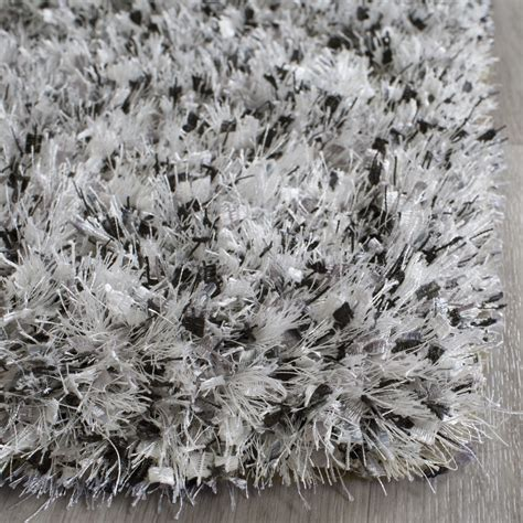 Gray Shag Rugs by Wade Logan Kenneth Gray Black Shag Area Rug Reviews