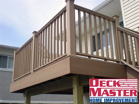 elevated decks deck master home improvement company