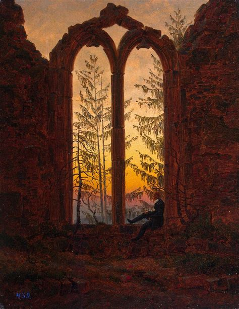 caspar david friedrich 3822819573 the contemplative landscapes of german romantic painter caspar david friedrich