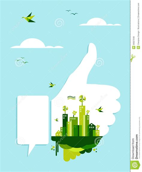 go green city background stock vector image of media go green like concept royalty free stock photos image