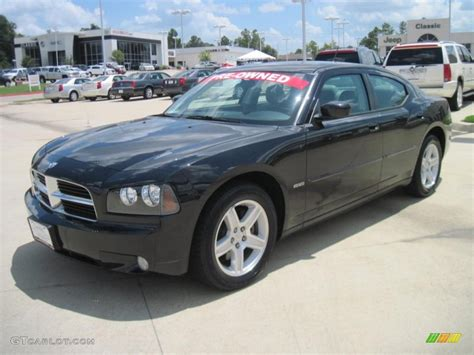 2008 black charger 2008 brilliant black pearl dodge charger r t