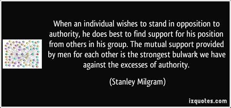 stanley milgram quotes quotesgram quotes about obedience to authority quotesgram