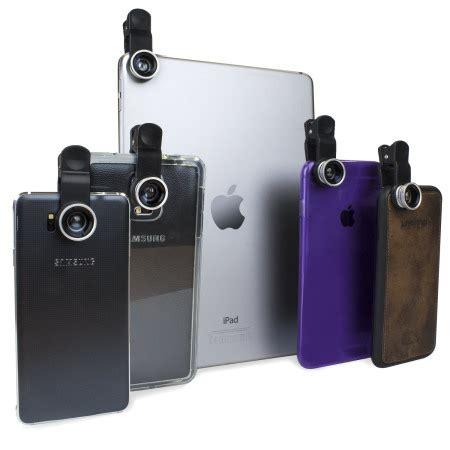 Lensa Universal Clip 3 In 1 olixar 3 in 1 universal clip lens kit