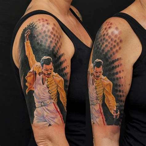 freddie mercury tattoo by fernandoshimizu on deviantart