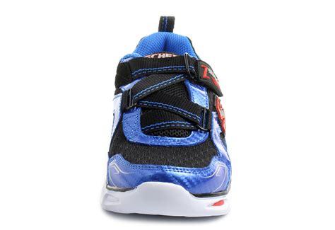 skechers womens light up shoes skechers shoes ipox light up 90385l blbk shop