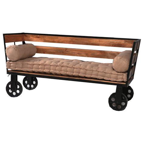 divani vintage divano vintage legno e ferro etnico outlet mobili etnici