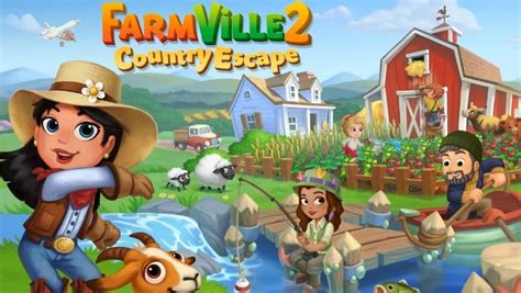 Zynga's FarmVille 2: Country Escape Arrives on iOS, Android Zynga Games Farmville 2 Facebook